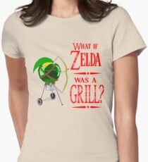 What if Zelda was a Grill? Women's Fitted T-Shirt