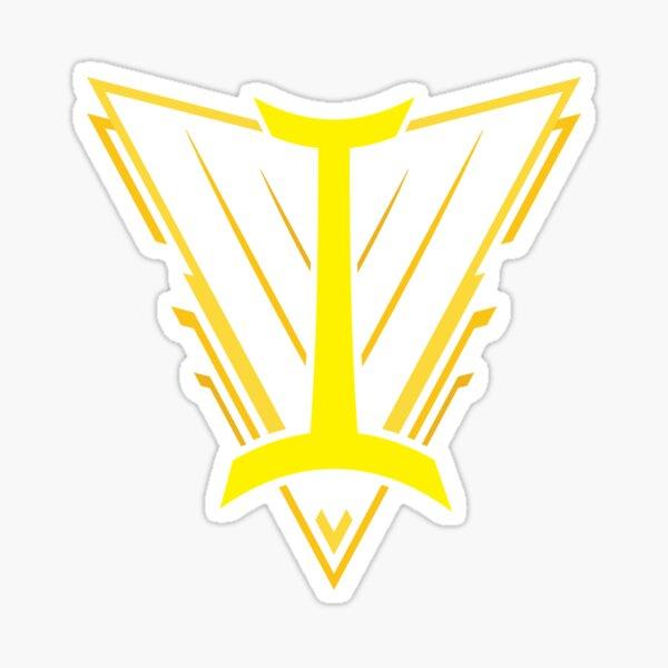 Team Yellow Sticker
