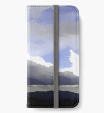 Panorama - Gunung Batu iPhone Wallet/Case/Skin