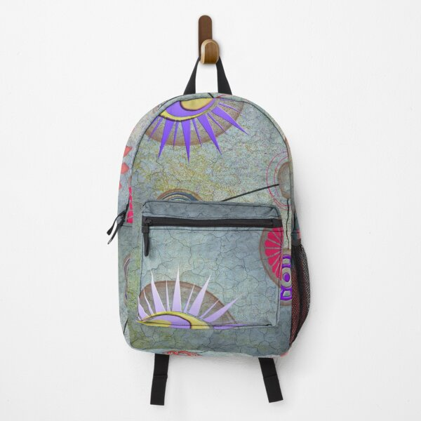 A Futuristic World Abstract Design Backpack
