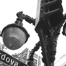Vancouver, BC: Street Lamp at Cordova by ACImaging