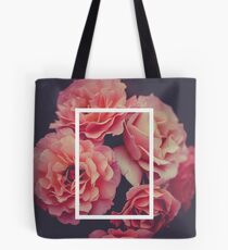 The 1975 Floral Rectangle Tote Bag