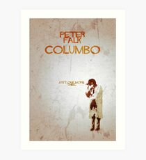 Columbo - Just One More Thing Art Print
