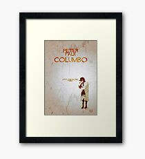 Columbo - Just One More Thing Framed Print
