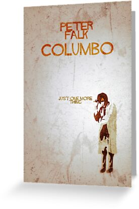 Columbo - Just One More Thing by jackfords