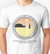 Honest Owens Moisture Farm Slim Fit T-Shirt