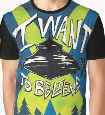 I Want To Believe Redux Graphic T-Shirt