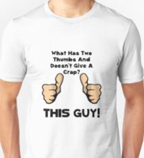 This Guy No Crap Unisex T-Shirt