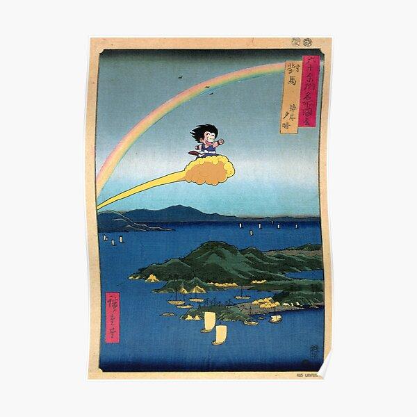 Floating Nimbus Poster