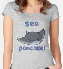 Sea pancake! Women's Fitted Scoop T-Shirt