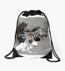 Ember Series Zebra Drawstring Bag