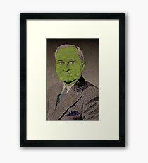 Truman-Goblin King Framed Print