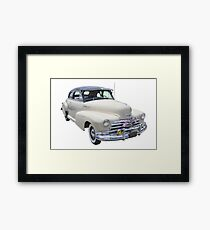 1948 Chevrolet Fleetmaster Antique Car Framed Print