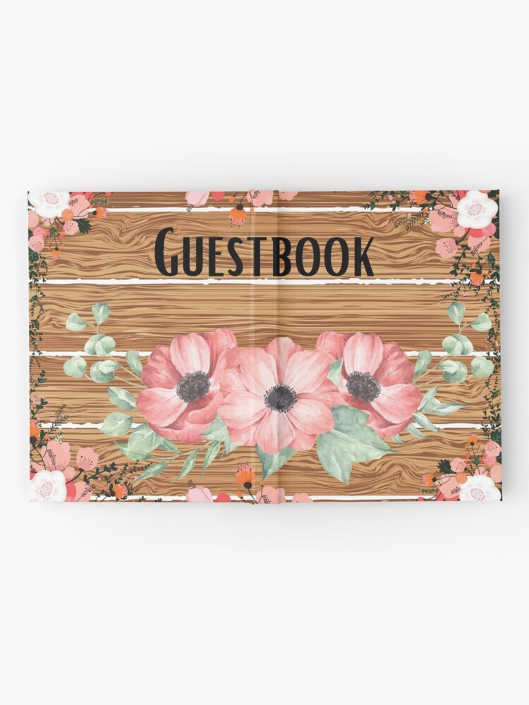 Alternate view of Guestbook Hardcover Journals for wedding,guest house,Travel Hardcover Journal