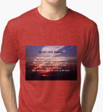 Old Irish Blessing #4 Tri-blend T-Shirt