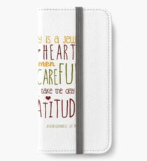 Thanksgiving iPhone Wallet