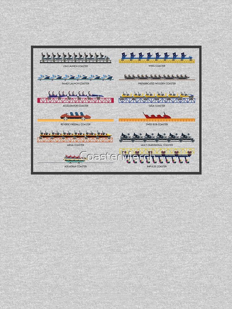 Intamin Rollercoaster Range Design by CoasterMerch