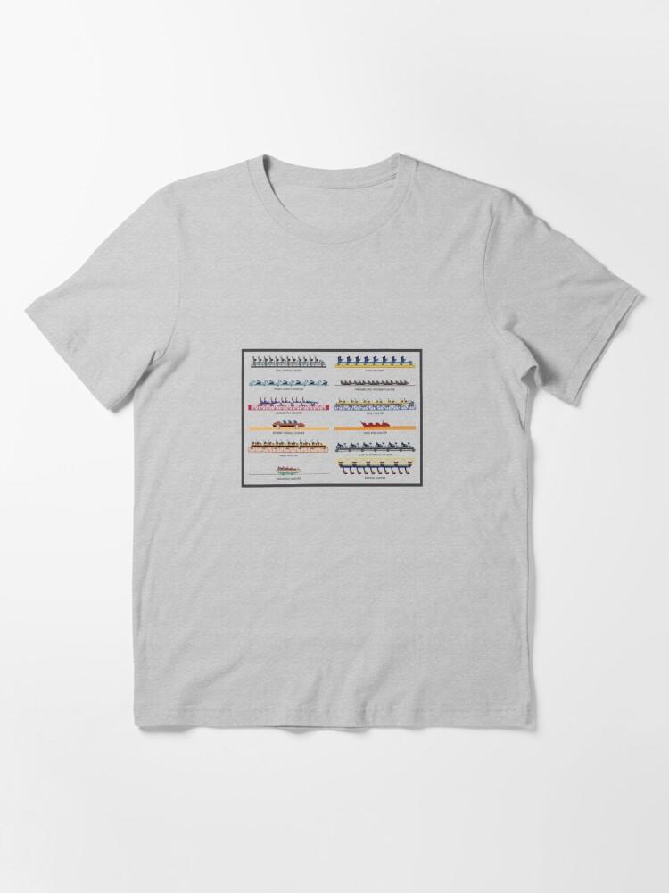 Alternate view of Intamin Rollercoaster Range Design Essential T-Shirt