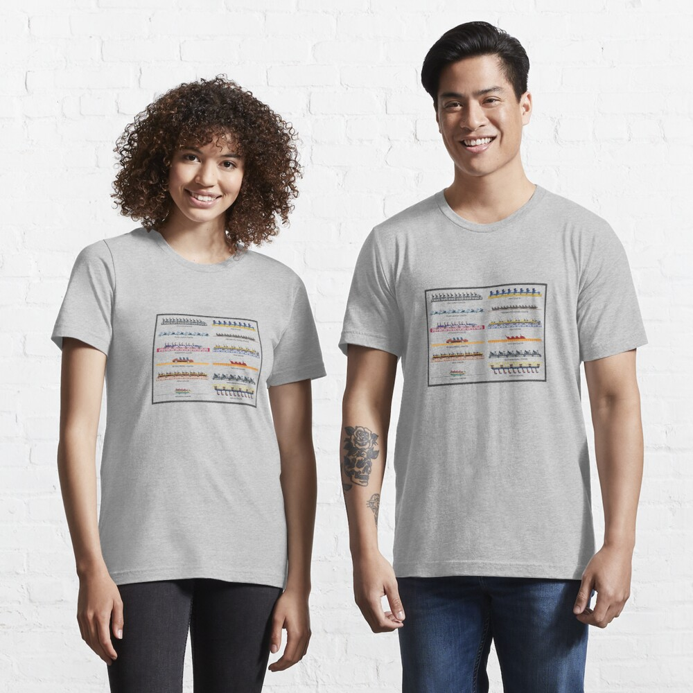 Intamin Rollercoaster Range Design Essential T-Shirt