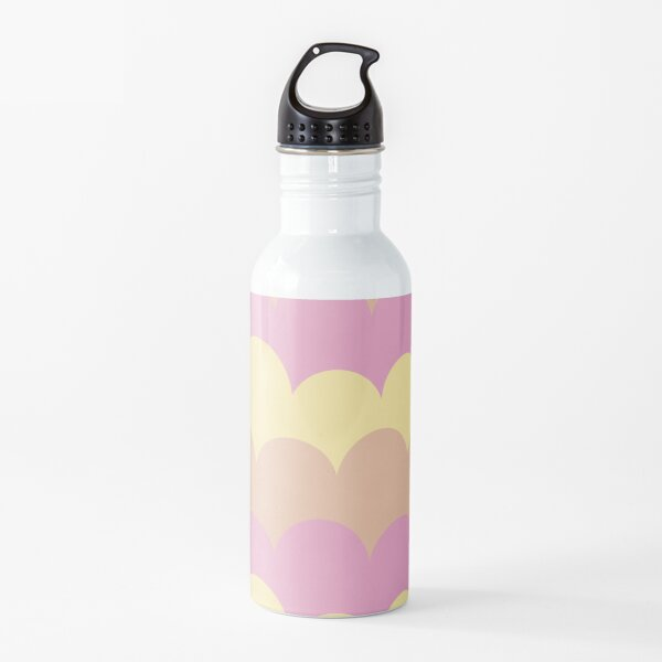 Ice Cream Clouds Water Bottle