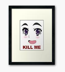 Kill Me Anime Framed Print