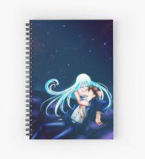 She will always watch over him Spiral Notebook