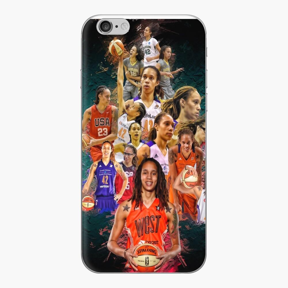 Brittney Griner (von Baylor zu Phoenix Mercury + Team USA) iPhone Klebefolie