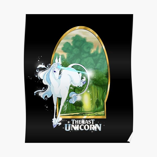 The last Unicorn - Try to go home Poster