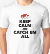 Pokemon GO - Keep Calm And Catch Em All T-Shirt