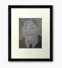 Walt Disney Grid Drawing Framed Print