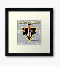Agent Cooper Framed Print