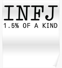 INFJ - 1.5% of a Kind Poster