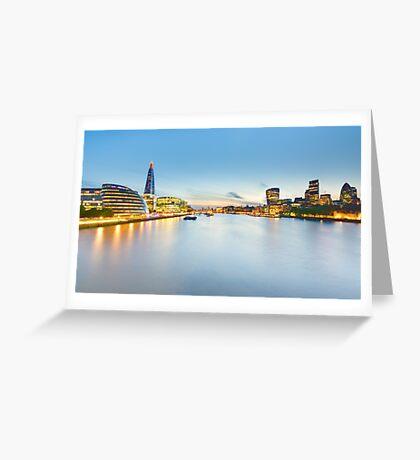 London at Sunset Greeting Card