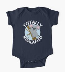 Totally Koalafied Funny Koala T Shirt Kids Clothes