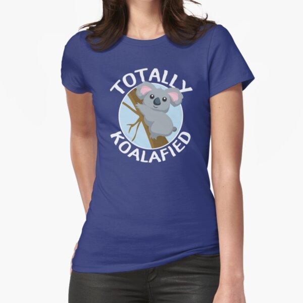 Totalmente Koalafied Funny Koala T Shirt Camiseta entallada
