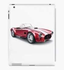 Cobra vintage sport car iPad Case/Skin