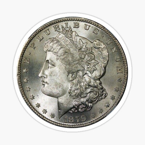 United States Coin - E pluribus unum 1879 Sticker