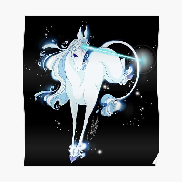 The last Unicorn - Try to go home - Glimmer Version Poster