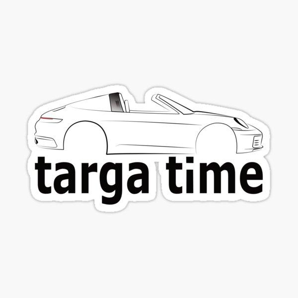 Targa T-Shirt Sticker