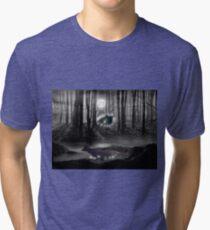 Beneath the trees Tri-blend T-Shirt