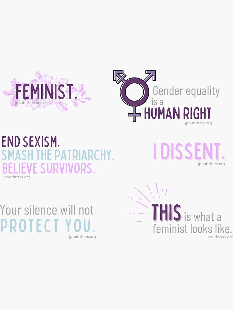 Feminist | Gender Justice Pack by JPOutiffters