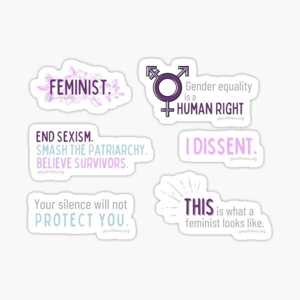 Feminist | Gender Justice Pack Sticker