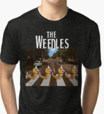 The Weedles on Abbey Road Tri-blend T-Shirt