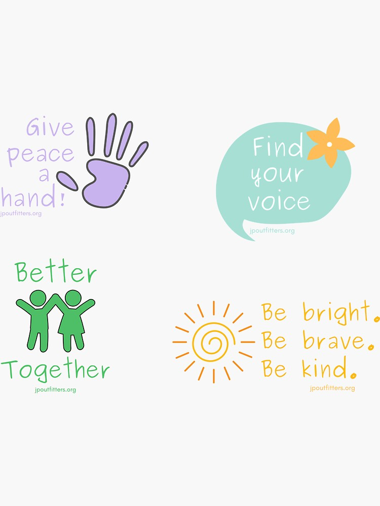 Give Peace a Hand | Kids as Peacemakers Pack by JPOutiffters