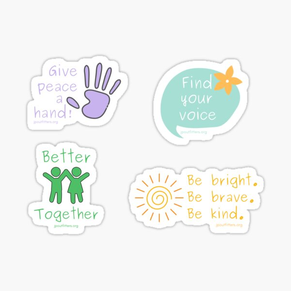 Give Peace a Hand | Kids as Peacemakers Pack Sticker