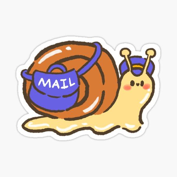 Mail Snail Sticker