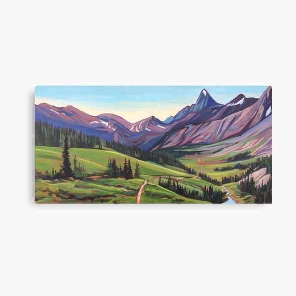 Tumbling Pass Canvas Print