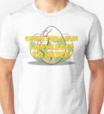 Going for a Run - Eggs to Hatch Slim Fit T-Shirt