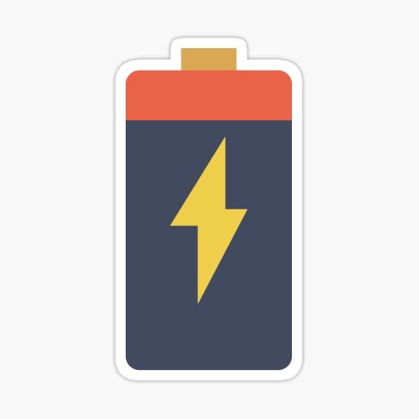 Energy Battery Sticker Sticker