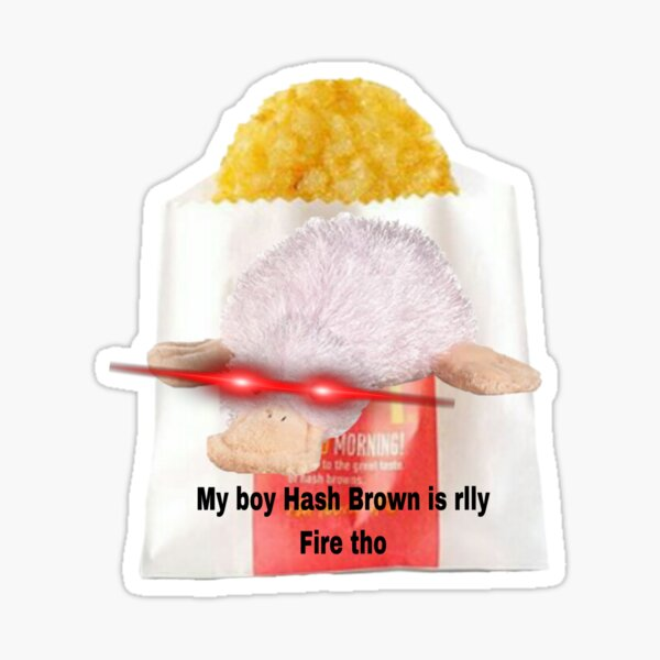Webkinz googles waddles hashbrown meme Sticker